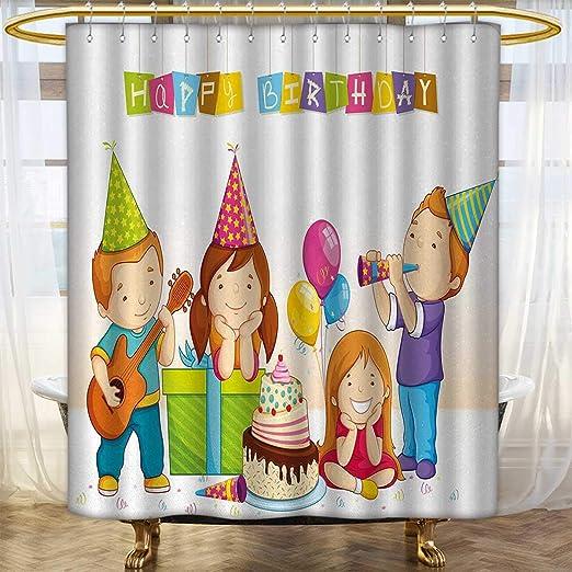 Cortina de ducha Anhounine para niños, colección de ...