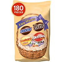 180-Piece MARS Easter Hunt Candy Mix with Skittles, Starburst, Snickers, and Milk Chocolate M&M'