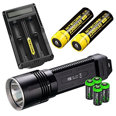 NITECORE P36 2000 Lumen CREE MT-G2 neutral white LED tactical flashlight