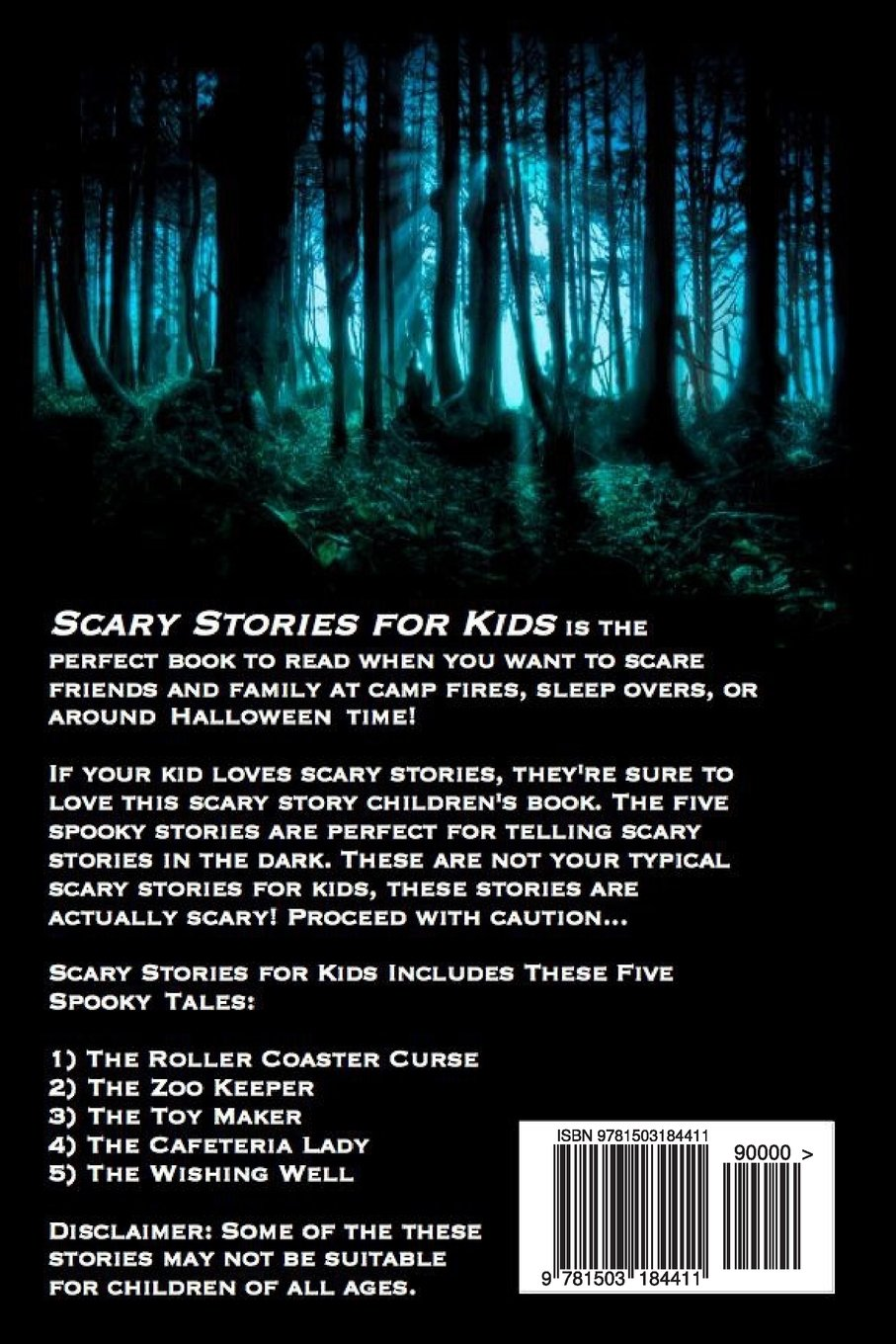 Uncategorized Kid Friendly Scary Stories scary stories horror for kids short children kara aitken wildan rayusman 9781503184411 amazon com books