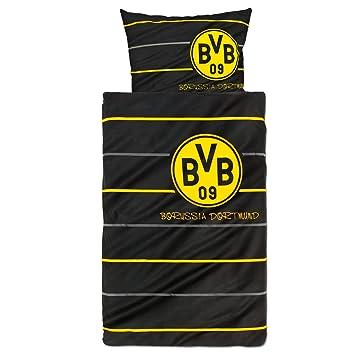Borussia Dortmund 8254 00 1 01 Dortmund Bettwäsche Polostreifen