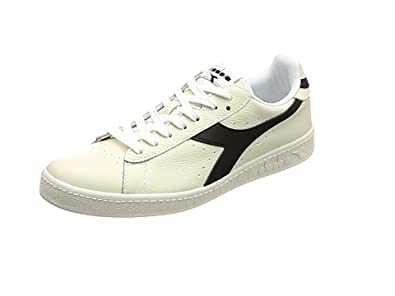 Diadora Game L Low, Chaussures de Gymnastique Homme, Blanc Cassé (Bianco Ottico Mandarino), 43 EU