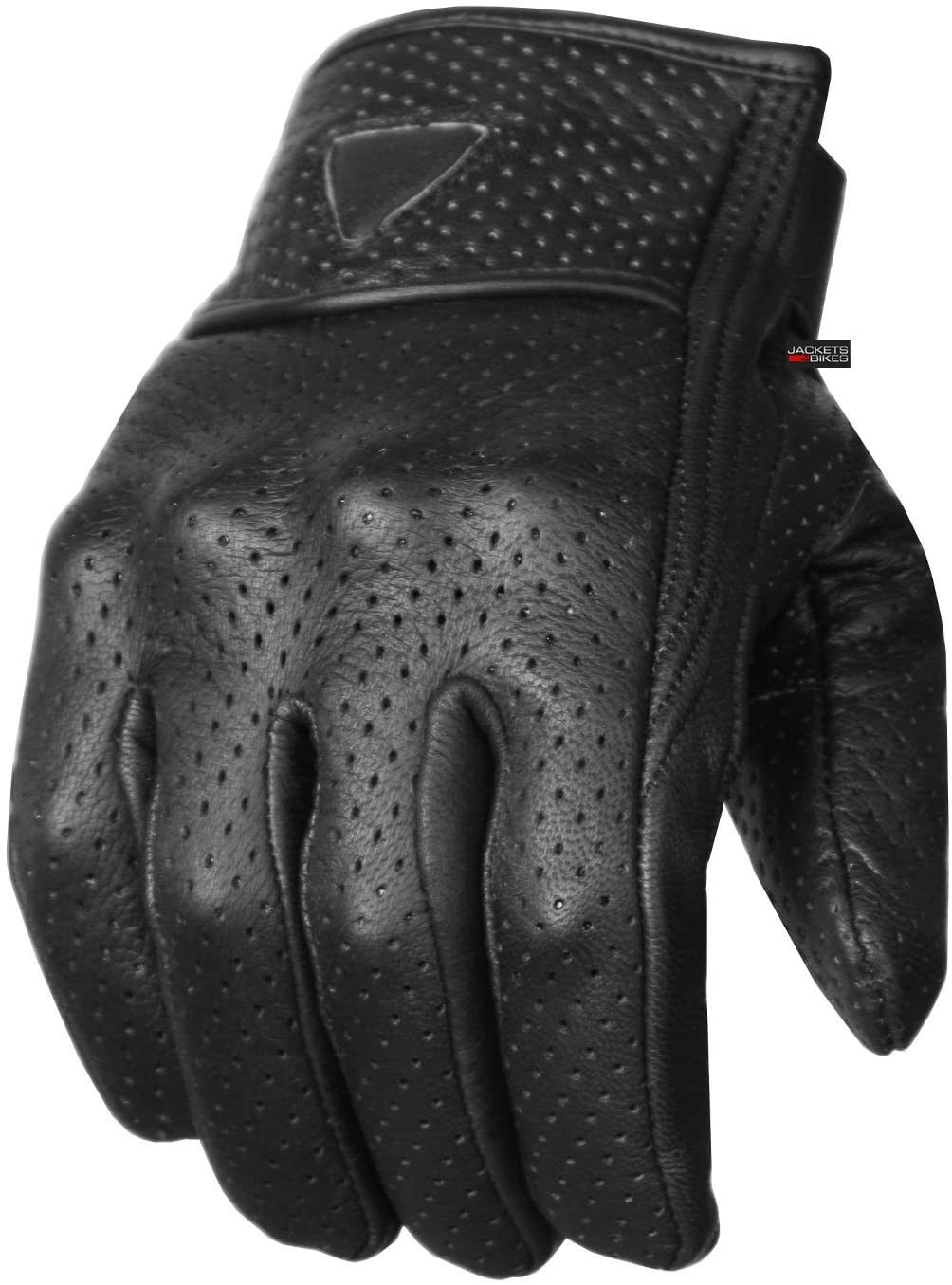 Premium Leather Perforated Gloves