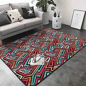 "Office Chair Floor Mat Foot Pad Native American Artistic 64""x 96"" Office Floor mats"
