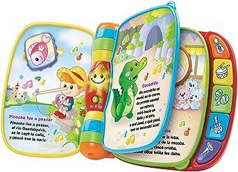 VTech - Primeras Canciones, Libro Musical, (3480-166722)