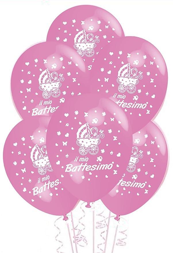 11 opinioni per Palloncini Battesimo Rosa addobbi e decorazioni per feste confezione 25pz