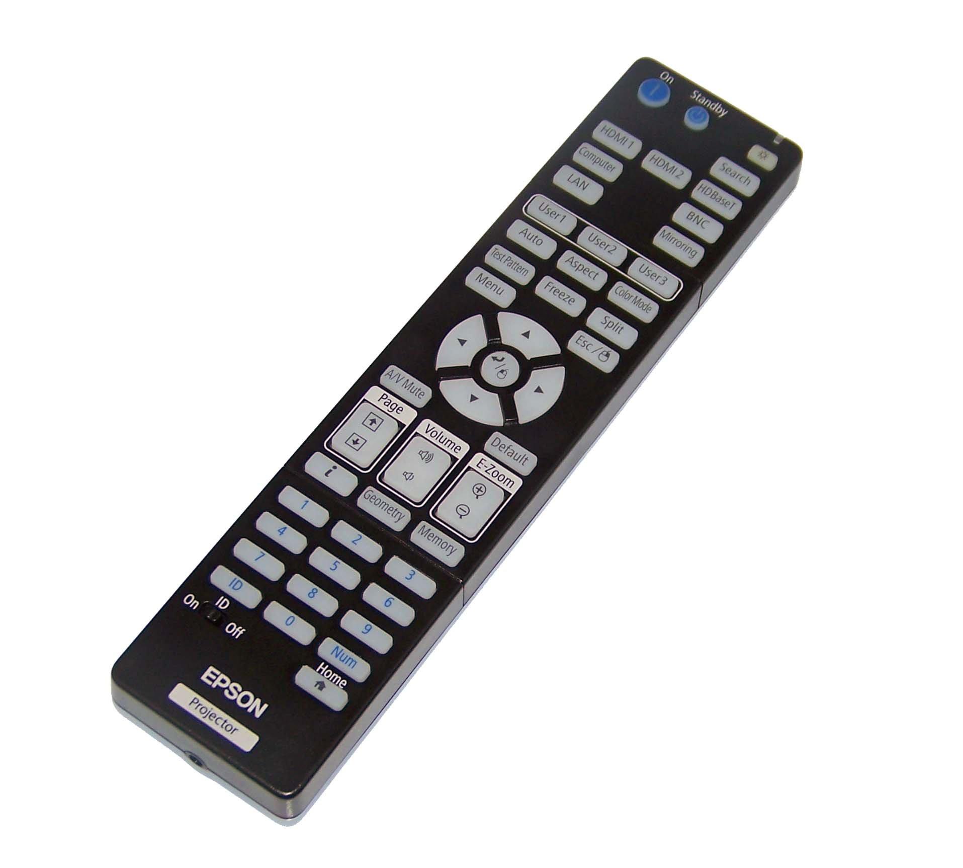 Epson OEM Projector Remote Control For EB-5520W, EB-5530U, EB-5535U, EB-5510 by Epson