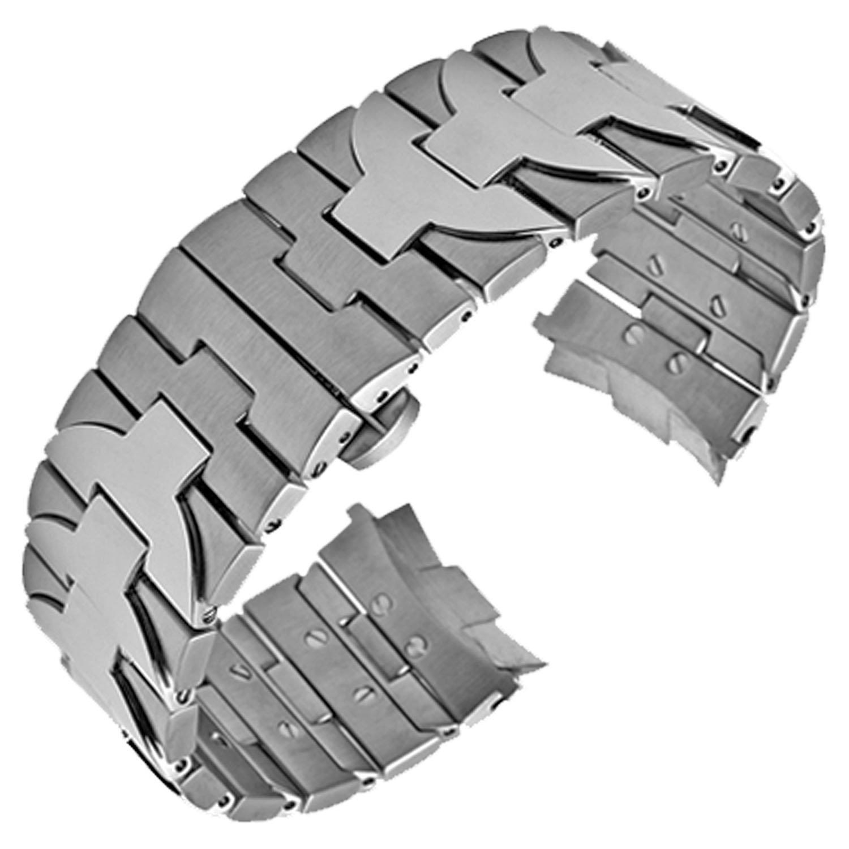 24 mm Edelstahl Armband Uhrenarmband Band geeignet Officine Panerai Luminor Marina