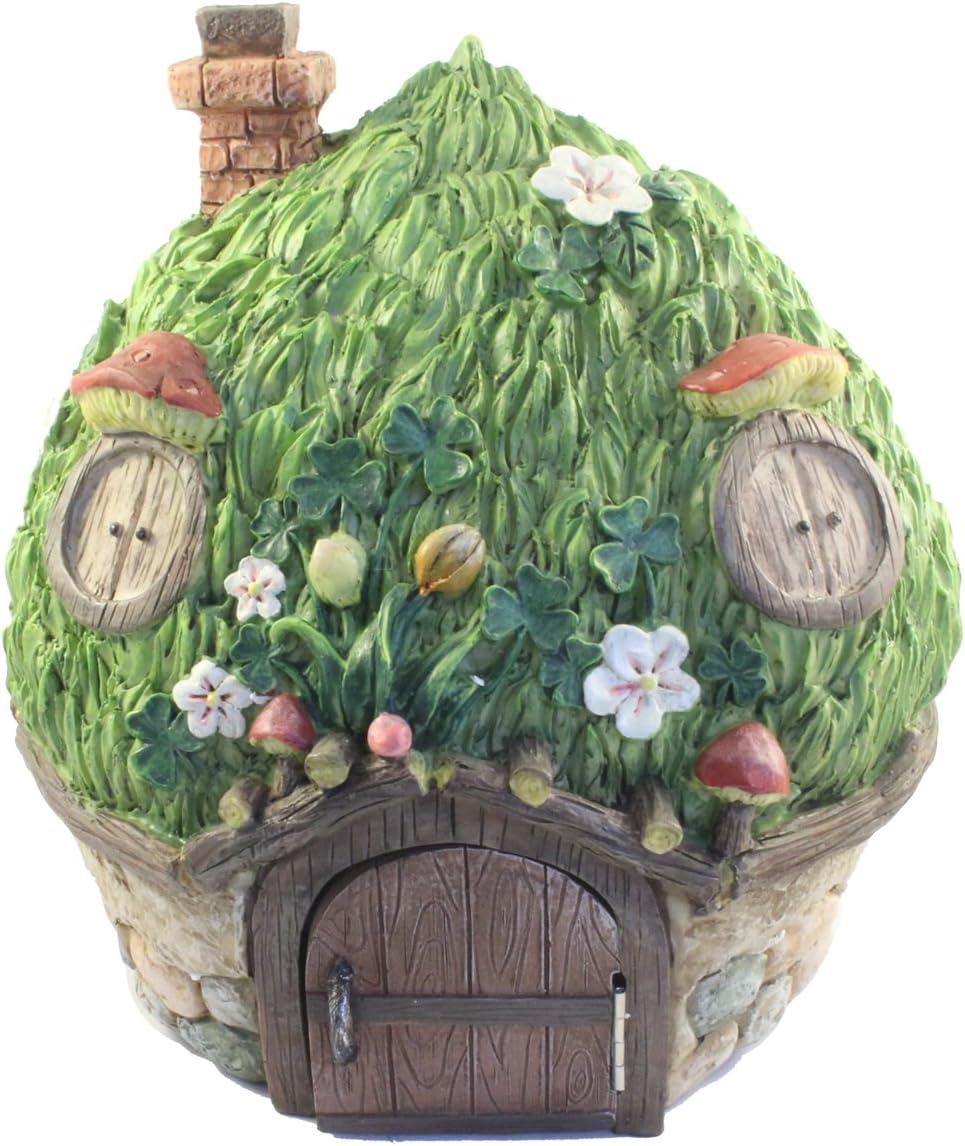 Mushroom Fairy House Garden Ornament
