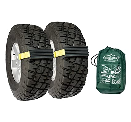 Amazoncom Trac Grabber Snow Mud And Sand Tire Traction Device