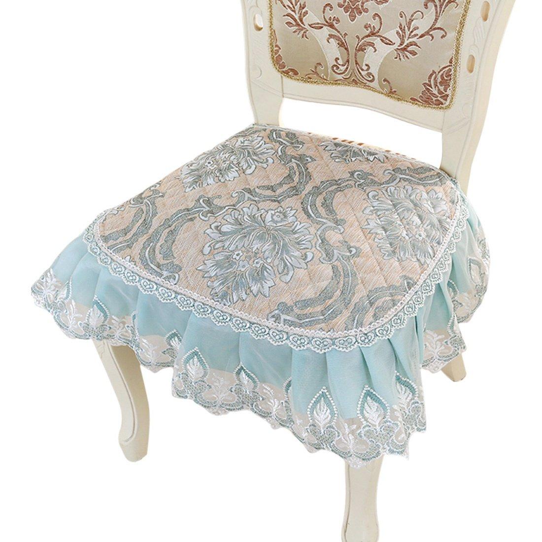 Jiyaru Floral Chair Pad Dining Room Home Garden Office Soft Seat Cushion 16''x19'' 1# by Jiyaru