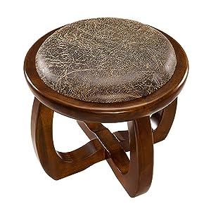 LPYMX Coffee Table Stool Children's Stool Sofa Stool Solid Wood Household Stool