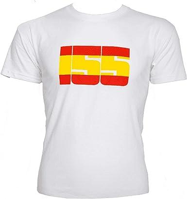 Camiseta Bandera España 155 Blanca: Amazon.es: Ropa y accesorios