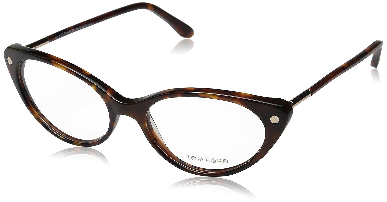 d209775d826 Tom Ford Eyeglasses TF 5189 HAVANA 055 TF5189  Amazon.co.uk  Clothing