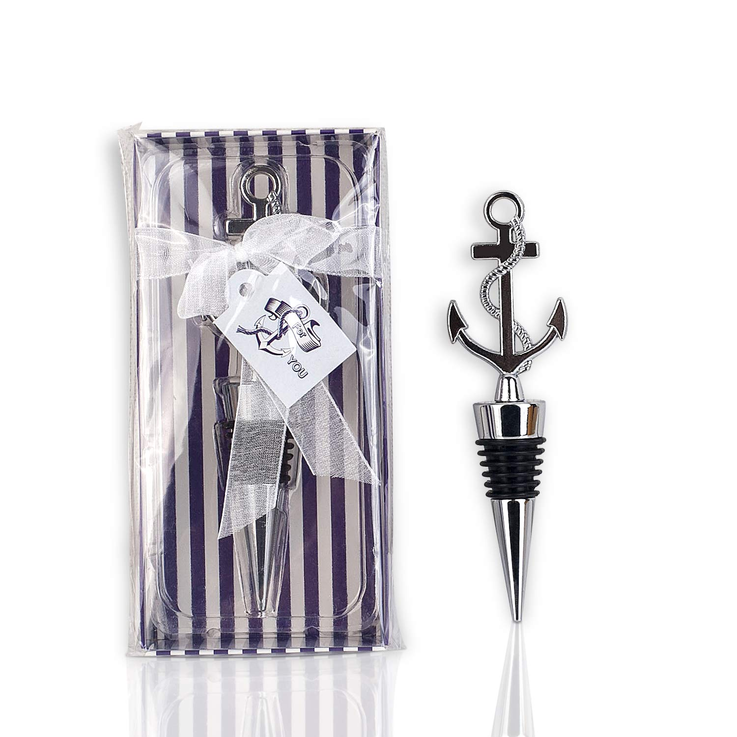 Anchor Design Wine Bottle Stopper-20pcs by dngcity