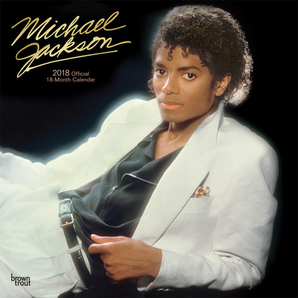 Michael Jackson 2018 - 18-Monatskalender: Original BrownTrout-Kalender [Mehrsprachig] [Kalender] (Wall-Kalender)