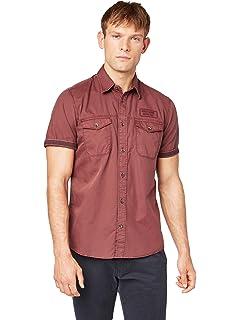 Tom Tailor Hemd Mit Detail Camisa para Hombre: Amazon.es: Ropa y accesorios