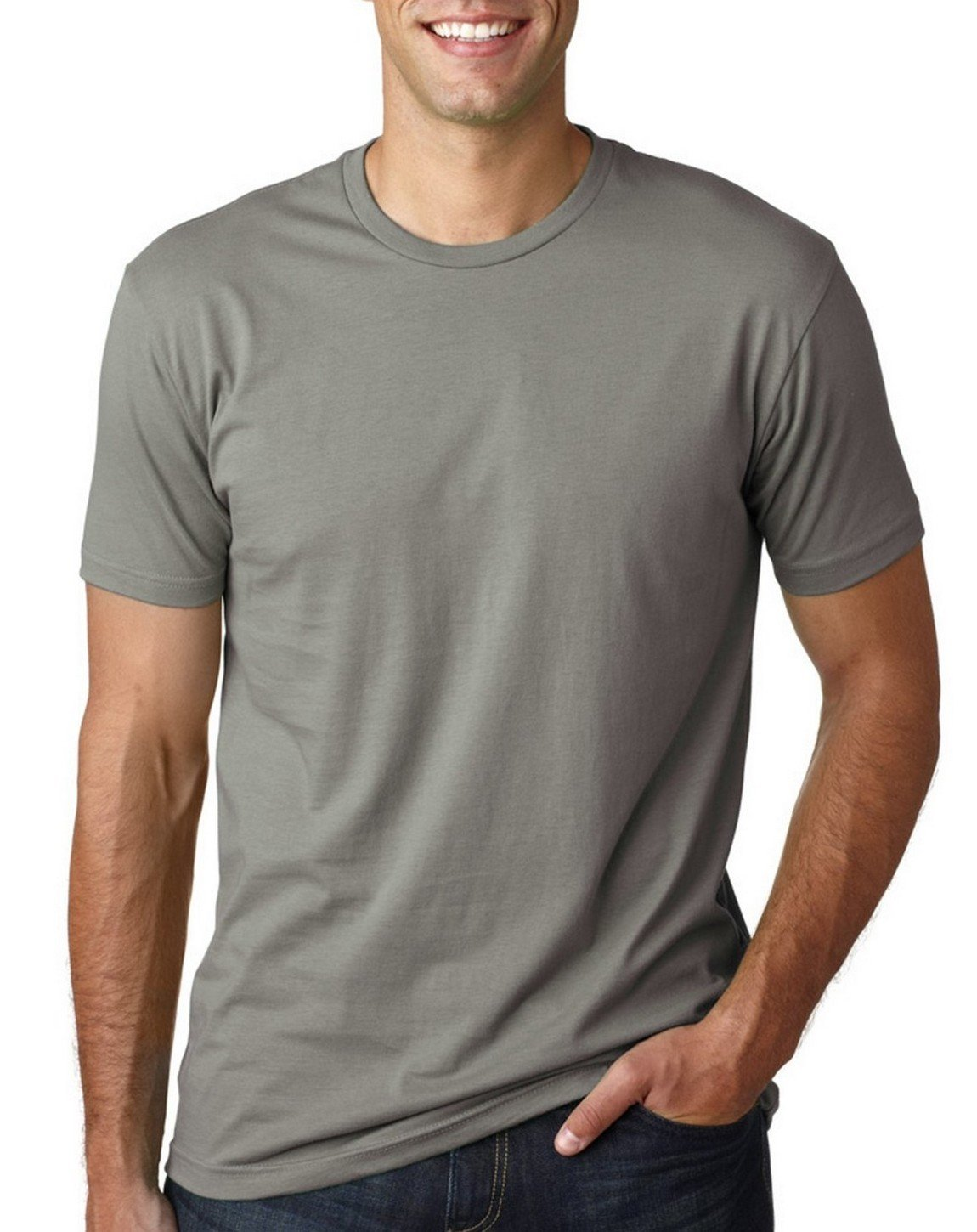 Next Level Mens Premium Fitted Crew Warm Grey X-Large (Pack of 5)