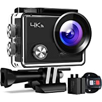 """APEMAN Action Camera A77, 4K WiFi 20MP Waterproof Underwater Camera Ultra Full HD Sport Cam 30M Diving with 2"""" LCD 170…"""