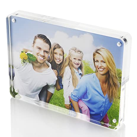 Amazoncom 4x6 Picture Frames Bluk Stand On Home Office Acrylic