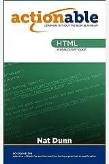 HTML Kindle Edition