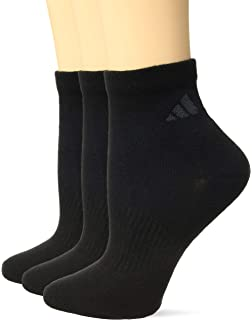 b84bea7c Amazon.com: adidas Women's Athletic Quarter Socks (6-Pack), Shock ...