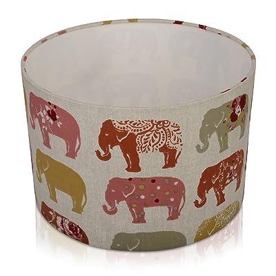 20cm (20,3cm) de Clarke et Clarke éléphant à épices plafond Abat-jour uniquement