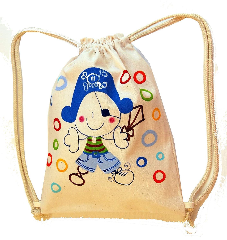 Mochila cuerdas Infantil Personalizada bucanero: Amazon.es: Handmade
