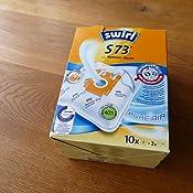 Amazon.de: Swirl S 73 MicroPor Plus Staubsaugerbeutel für