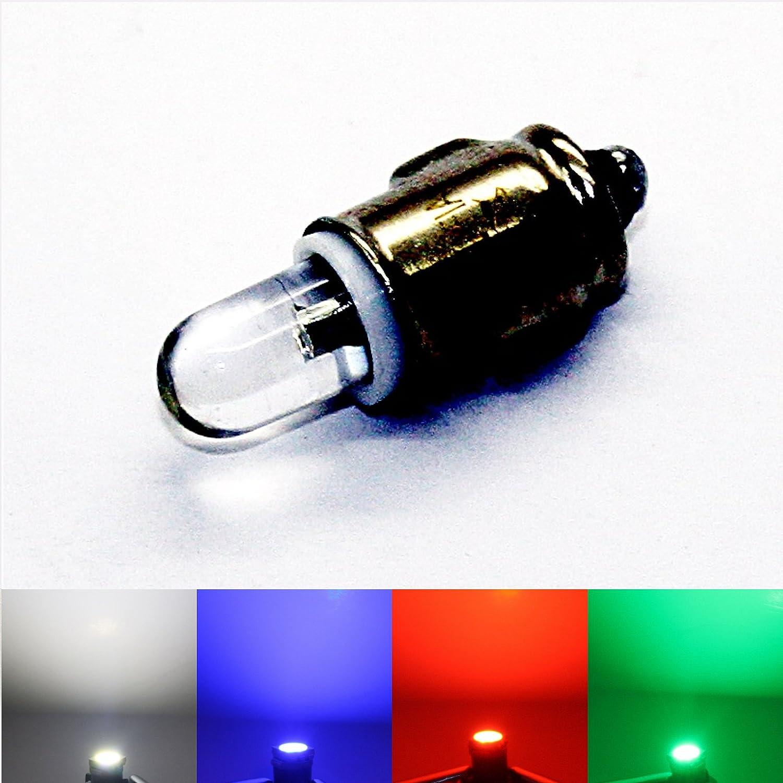 10 x Bulbs Lamp Light T6.5 BA7S 24V 3W Aerzetix