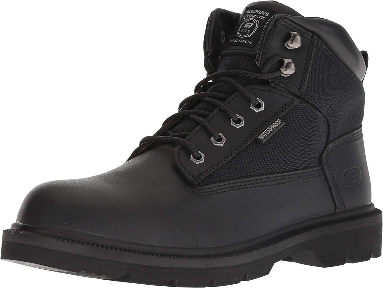 Colector Idealmente diapositiva  Amazon.com | Skechers Work Mens Makanix - Bridgend | Boots