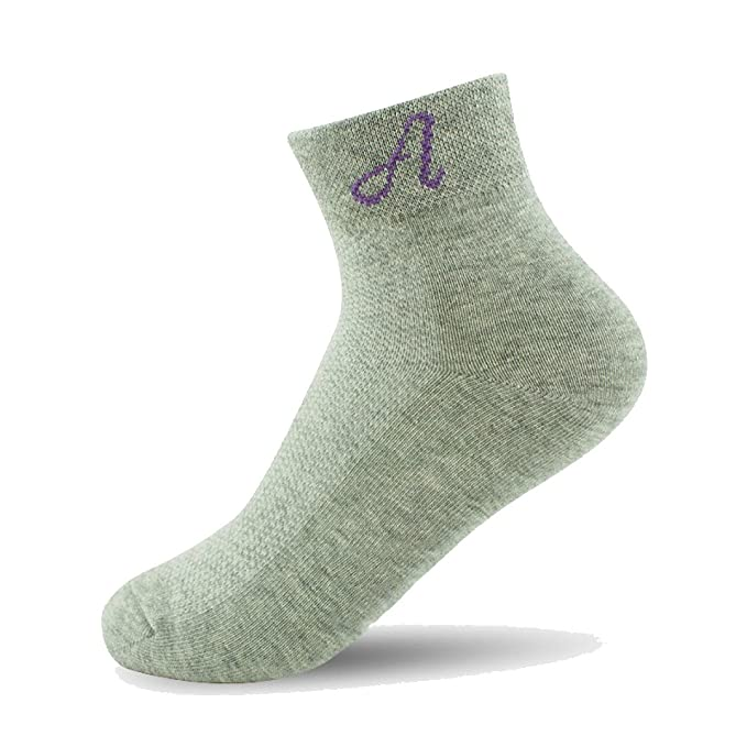 snfgoij Calcetines 6 Boxes Calcetines Deportivos Para Hombres Calcetines Para Hombres Calcetines Antibacterianos Para Mujeres Calcetines De Tubo, ...