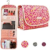 Hanging Travel Toiletry Bag Cosmetic Make up Organizer Kit for Women and Girls TSA Approved