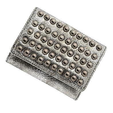 29997379a280 Amazon   極小財布 スタッズ BECKER(ベッカー)日本製 (アンティーク ...