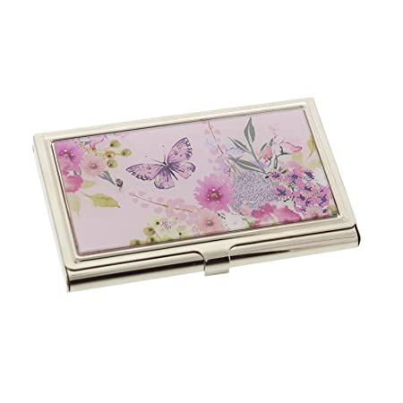 Louise tiler pink butterfly ladies business card holder amazon louise tiler pink butterfly ladies business card holder colourmoves Image collections