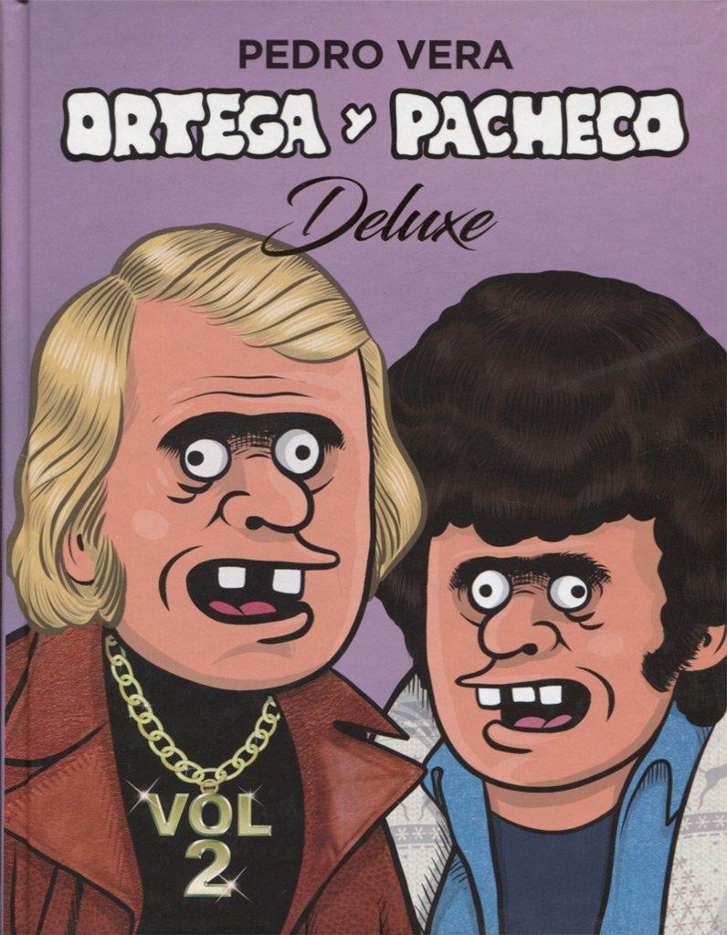 Ortega y Pacheco Deluxe Vol. 2 (¡Caramba!) Tapa dura – 31 oct 2017 Pedro Vera ASTIBERRI EDICIONES 8416880360 Graphic novels