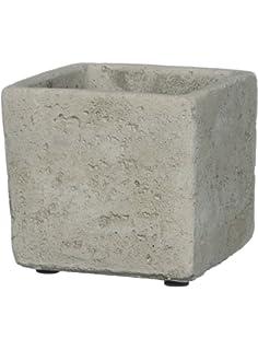 Amazon.com: Sullivans - Macetero rectangular de cemento ...