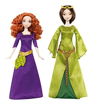 Mattel Disney Princess X5322 - Merida Und Ihre Mutter Königin ...