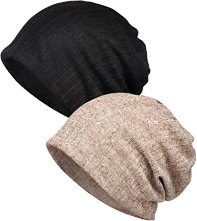Gorros Turbante quimioterapia Mujer Slouch Beanie Transpirable ...