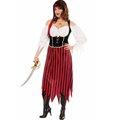 472c7c07608 Forum Novelties Inc - Womens Pirate Maiden Plus Size Costume