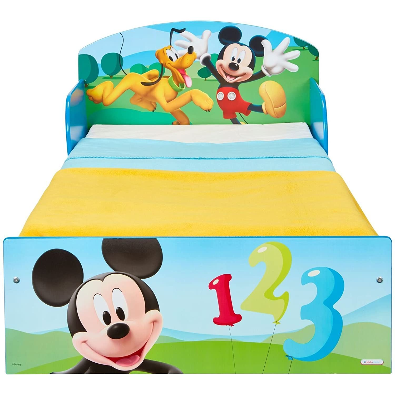 Worlds Apart Micky Maus Bett 140 x 70 cm Kinderbett Kindermöbel Disney Mickey Mouse 1505MKI