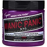 Manic Panic Mystic Heather Hair Color Cream – Classic High Voltage - Semi-Permanent Hair Dye - Rich Orchid Purple Shade…