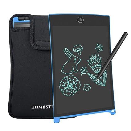 NEWYES Gráfica de Escritura LCD Tablero 8.5 Pulgadas de Dibujo Regalos para niños Oficina Escritura Pizarra Mensaje portátil de Escribir Dibujar Notas ...