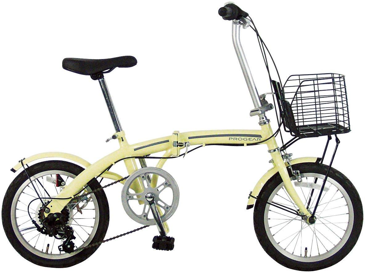 C.Dream(シードリーム) ポーター PO66 16インチ 折畳み自転車 アイボリー B071JTJZDB