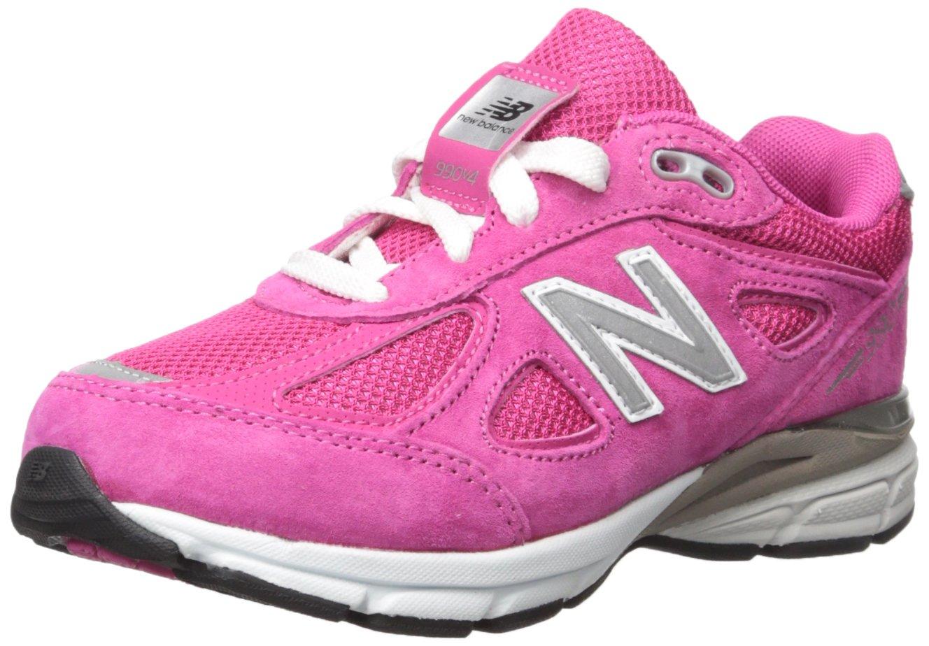 New Balance KJ990V4 Running Shoe , Pink/Pink, 1 M US Little Kid by New Balance (Image #1)