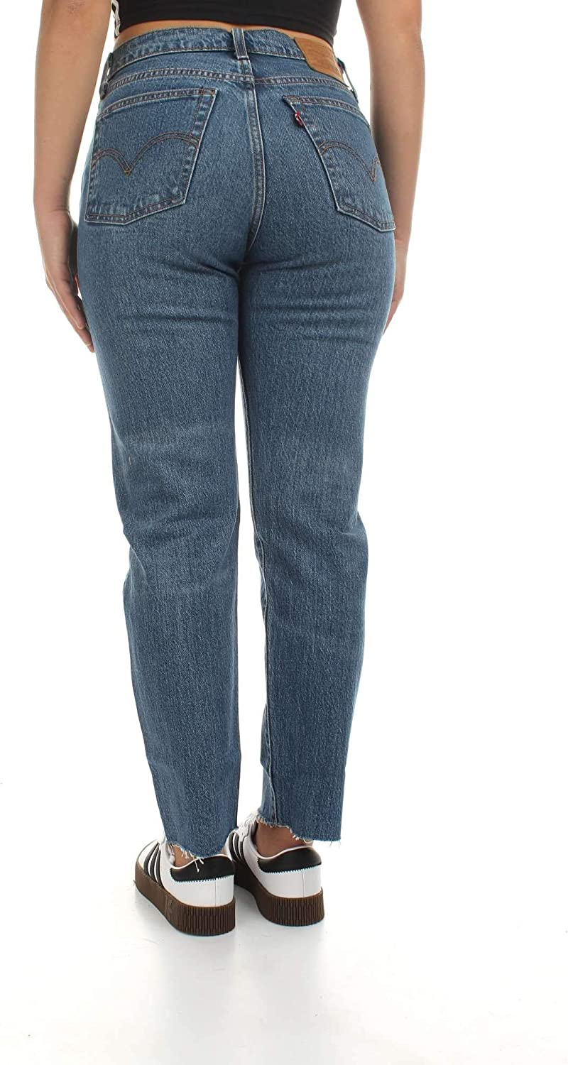 Levi's Jeans Donna Levis Wedgie Straight Love Triangle 34964.0012 0012 DENIM