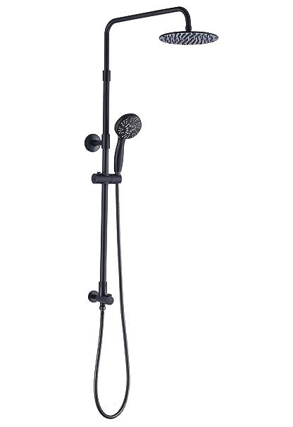 Merveilleux Aurea Retrofit Rain Shower System, Adjustable Height Shower Head 8 Inch  Combo With 3