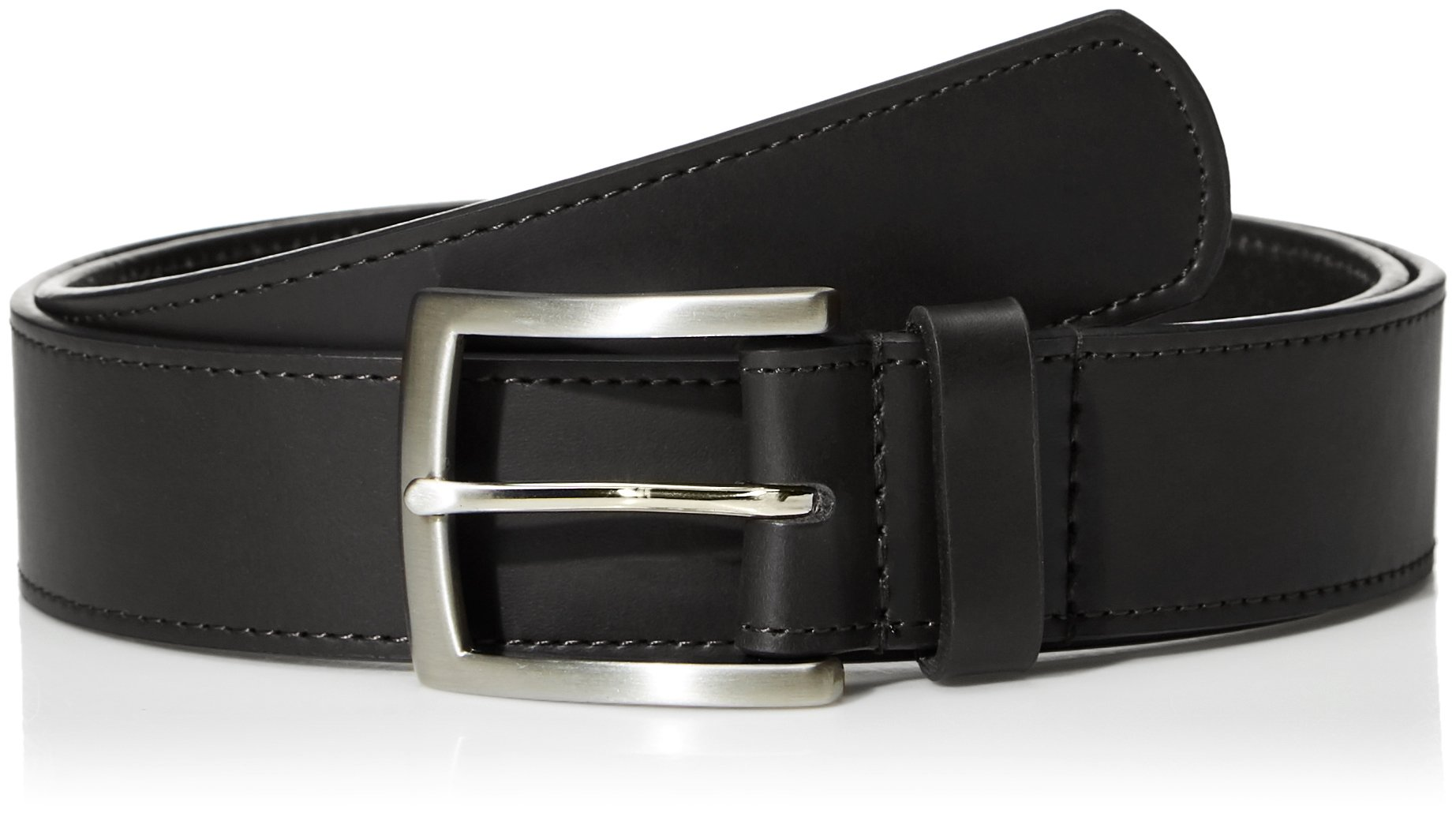 Filgate Genuine Leather Belt Decorative Waistband Black 38'' by Filgate (Image #1)