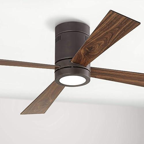 52″ Revue Modern Hugger Low Profile Ceiling Fan