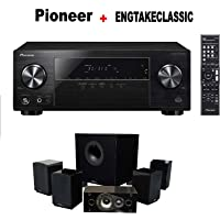Pioneer VSX-531 5.1 Channel Network AV Receiver Audio & Video Component Receiver + Energy 5.1 Take Classic Home Entertainment System (Black)